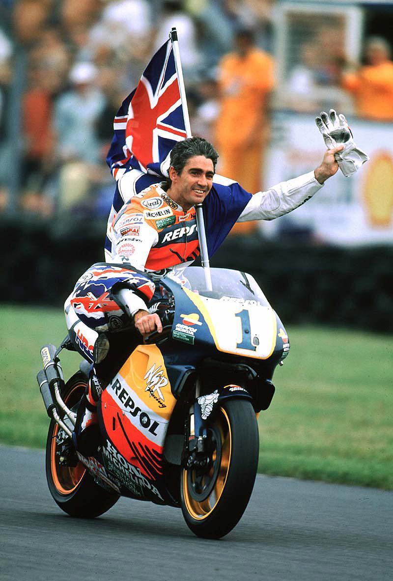 Michael Doohan Top Five World Champion